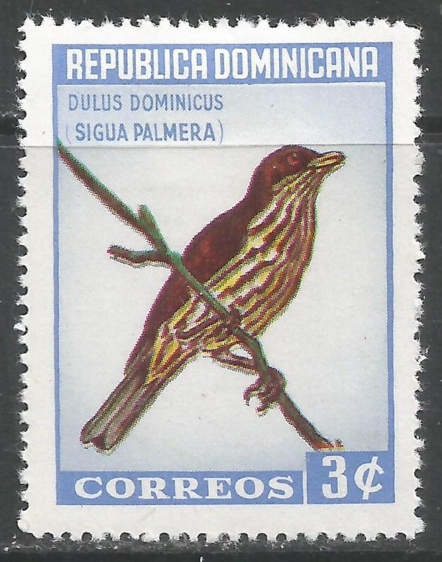 DOMINICAN REPUBLIC 596 MOG V583