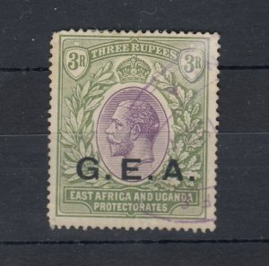 Tanganyika GEA KGV 1919 3R O/P SG67 VFU J8441