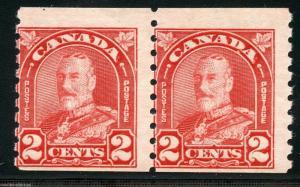 CANADA SCOTT#181 PAIR   MINT NEVER HINGED FULL ORIGINAL GUM