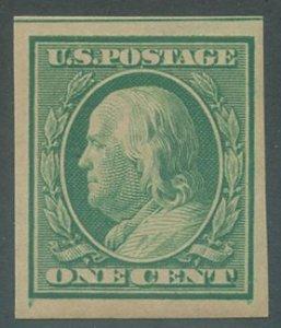 US Scott #343, Mint, VF, Hinged