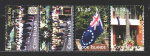 Cook Islands. 2010. 1636-39 in a series. Scouts, a national holiday in New Ze...