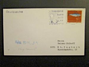 Germany 1964 Paquebot Cover / SS Silja - Z4629