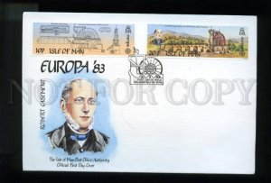 161452 ISLE OF MAN 1983 Robert Casement FDC cover