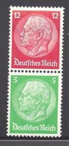 Germany, Reich se-tenant S 108 (M)