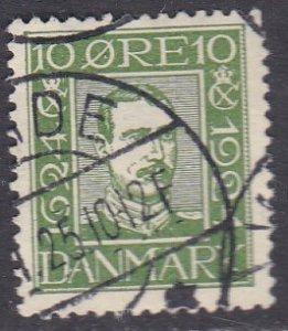 Denmark Sc #164 Used; Mi #131