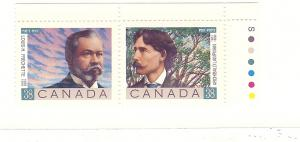 Canada, 1243-44a, Poets Pair, MNH