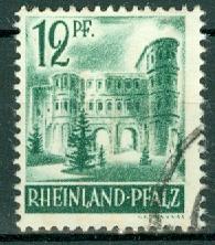 Germany - French Occupation - Rhine Palatinate - Scott 6N4