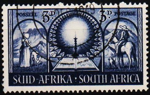 South Africa.1949 3d S.G.133 Fine Used