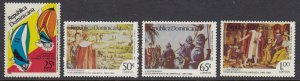 Dominican Republic 980-3 Discovery of America mnh