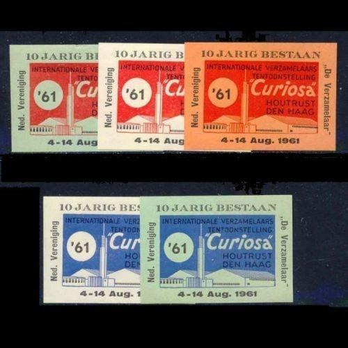 Netherlands 1961 Hague Collectors' Expo Poster Stamps