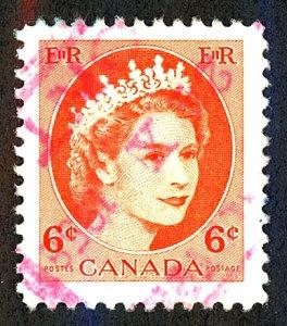Canada #342 Used