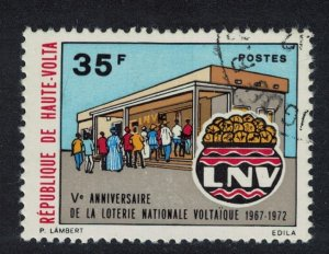 Upper Volta National Lottery 1972 Canc SG#383