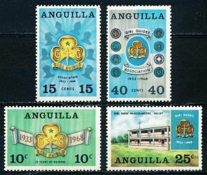 Anguilla #40-43  Set of 4 MH