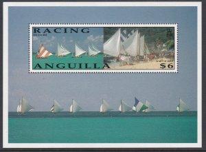 861 Sailboat Racing SS MNH
