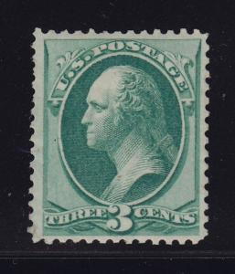 147 VF-XF OG previously hinged with nice color cv $ 225 ! see pic !