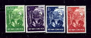 South Vietnam 79-82 MNH 1958 set