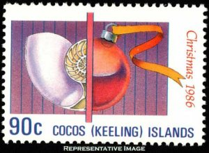 Cocos Islands Scott 156 Mint never hinged.