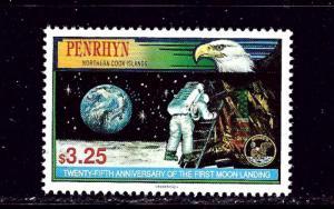 Penrhyn Is 441 MNH 1994 Moon Landing Anniv