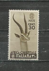 Italian East Africa Scott catalogue #8 Unused Hinged