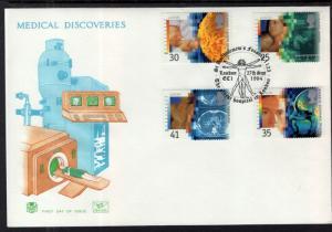 Great Britain 1577-1580 Medical Discoveries Stuart U/A FDC