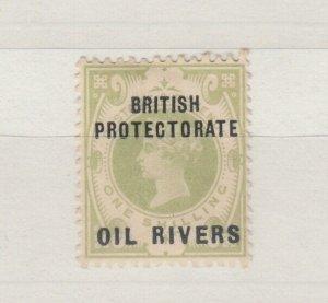 Oil Rivers Nigeria QV 1892 1/- O/P MLH J8427