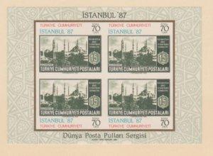 Turkey Scott #2300 Stamps - Mint NH Souvenir Sheet