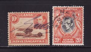 Kenya, Uganda, Tanzania 69, 74 U King George VI (D)
