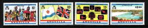 Anguilla-SC#521-4-unused NH set-Commonwealth Day-1983-