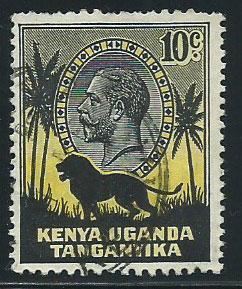 Kenya Uganda & Tanganyika SG 112 Used