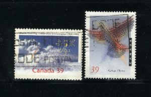 Can #1287-88   -2    used VF 1990 PD