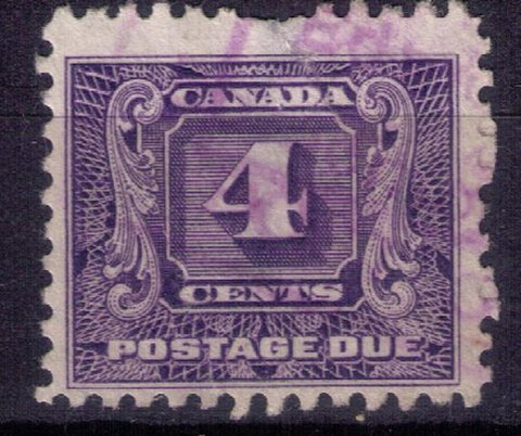 Canada Scott#J3 Used Very Fine