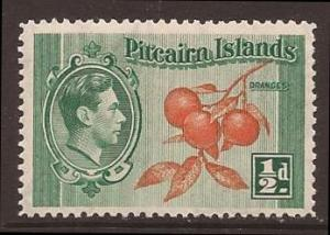 Pitcairn Islands scott #1 m/nh stock #F0803