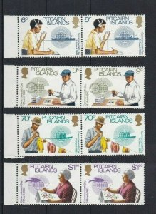 PN145) Pitcairn Islands 1983 Commonwealth Day MUH pairs