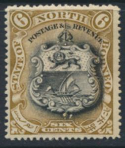 North Borneo  SG 101a MH   perf 15 x 14½ please see scan & details