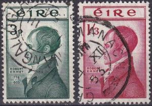 Ireland #149-50 F-VF Used CV $26.35  (A19831)