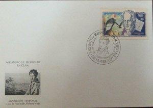 A) 1997, CUBA, ALEJANDRO VON HUMBOLDT, 200th ANNIVERSARY OF THE BIRT