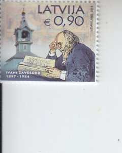 2019 Latvia Ivan Zavoloko Old Belief (Scott NA) MNH