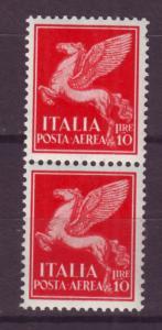 J17230 JLstamps 1930 italy mnh #c19 airmail pair
