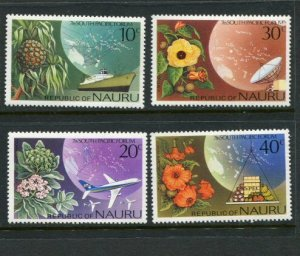 Nauru MNH 142-5 South Pacific Forum Flowers