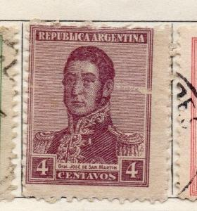 Argentine Republic 1917-22 Early Issue Fine Mint Hinged 4c. 106762