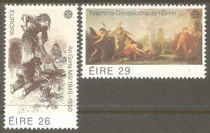 IRELAND Sc# 519 - 520 MNH FVF Europa Conversion of Ireland to Christianity