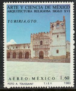 MEXICO C630,  Art and Science (Series 8) MINT, NH. F-VF.