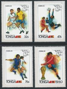 Tonga #509-12 NH 1982 Soccer Cup