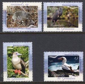 St Vincent 3677-3680 Birds MNH VF