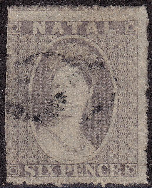 NATAL Used Scott # 13 Queen Victoria (1 Stamp) -2