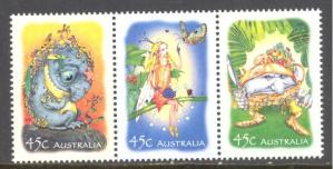 Australia Sc # 2091-2093a mint never hinged (BC)