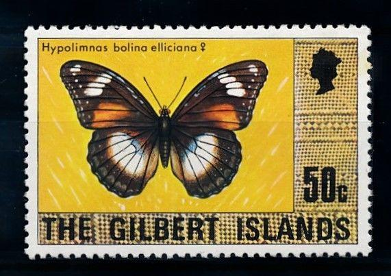 [70373] Kiribati Gilbert Islands 1976 Insects Butterflies From Set MNH