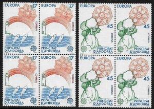 Andorra, Spanish #173-4 MNH Set - 1986 Europa - Wholesale X 4