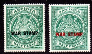 ANTIGUA MR1-MR2 MH SCV $6.35 BIN $3.20 CREST
