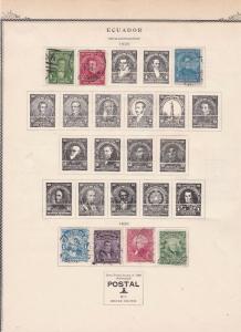 Ecuador Stamps Ref 14607